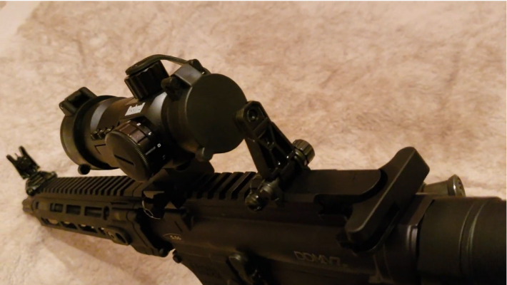 Daniel Defense DDM4 V7P 300 Blackout SIGHTS