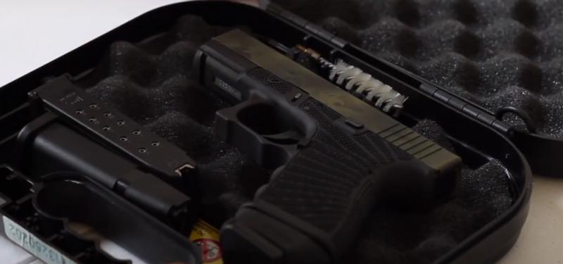 Glock 32 .357 SIG Handgun in Case