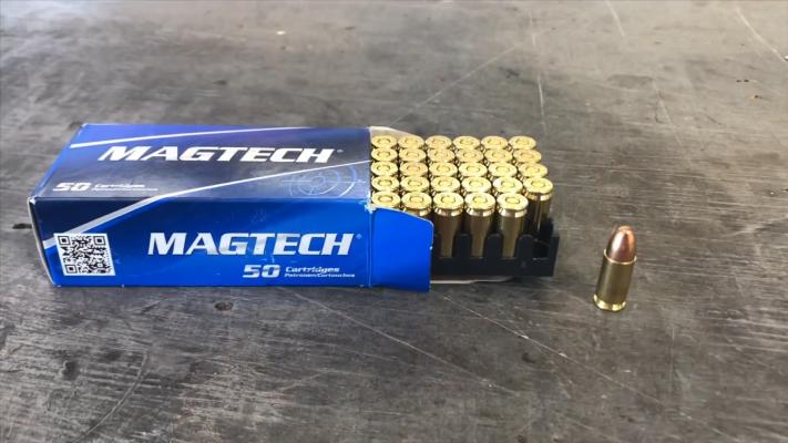 HECKLER _ KOCH USC 45 Magtech ammo