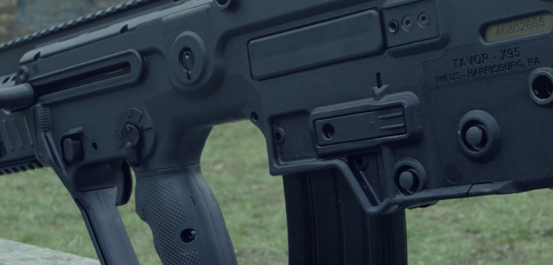 IWI Tavor X95 magazine catch
