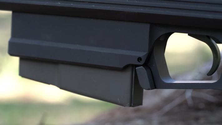 AR-30A1 .338 LAPUA magazine release