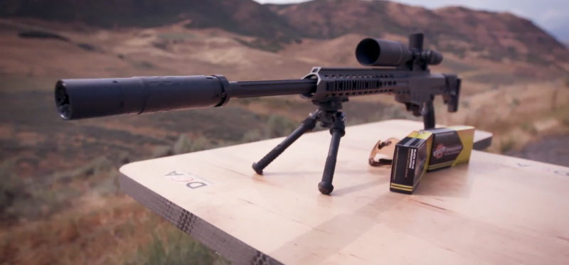 BARRETT MRAD RIFLE .338 barrel 2