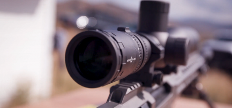BARRETT MRAD RIFLE .338 optics