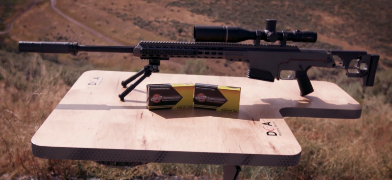 BARRETT MRAD RIFLE .338
