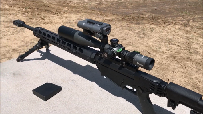 Ruger Precision Rifle 338 Lapua barrel 3