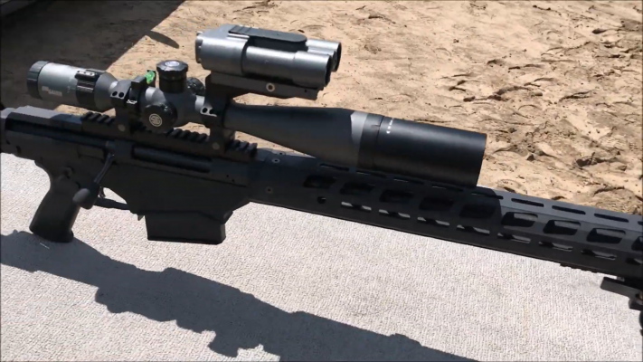 Ruger Precision Rifle 338 Lapua sighting
