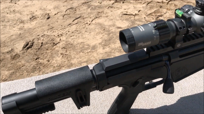 Ruger Precision Rifle 338 Lapua stock 2