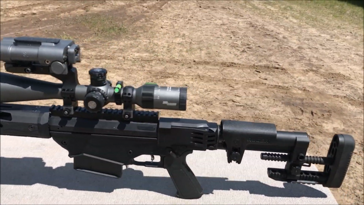 Ruger Precision Rifle 338 Lapua stock