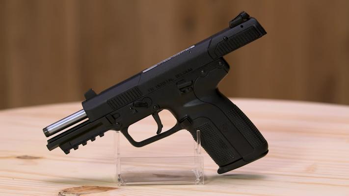 FN 5.7 muzzle