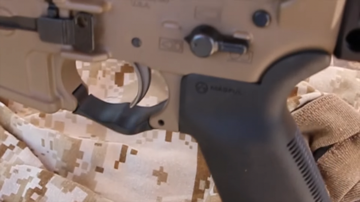 LWRC International IC-SPR trigger guard