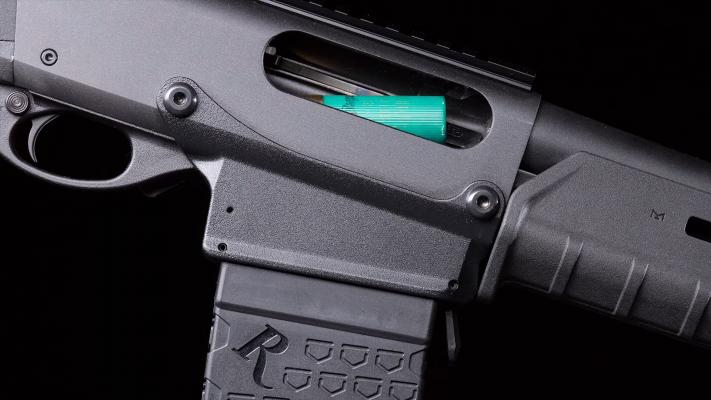 Remington 870 DM magazine release