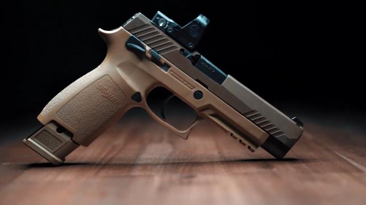 Sig Sauer M17 trigger