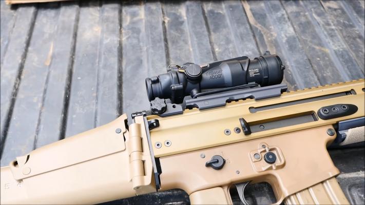 FN Herstal SCAR16 magazine release