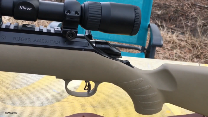Ruger American Ranch trigger
