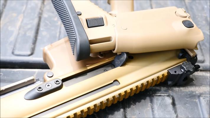 FN Herstal SCAR16 stock
