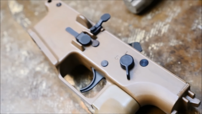 FN Herstal SCAR16 trigger guard