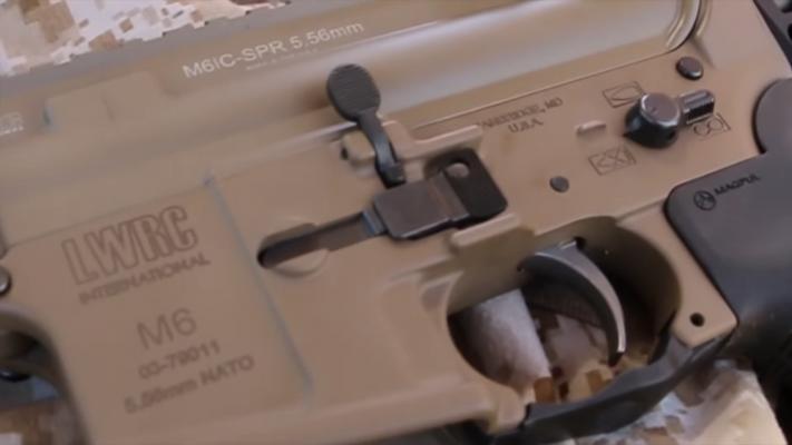 LWRC International IC-SPR trigger