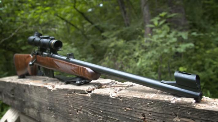 CZ 527 Carbine Bolt Muzzle
