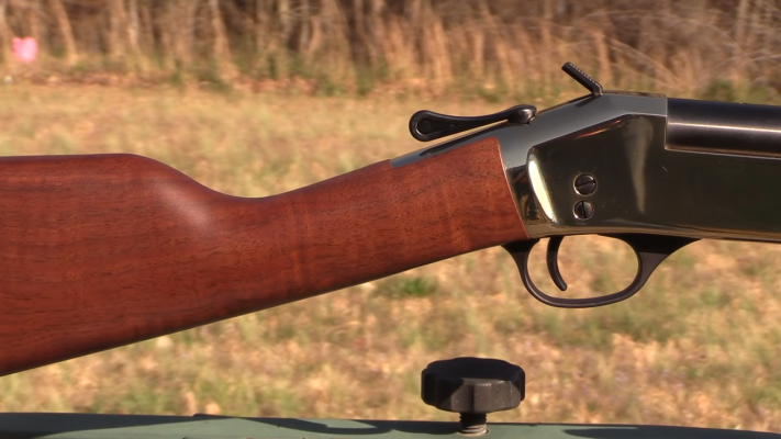 Henry Single Shot Rifle Grip and Trigger