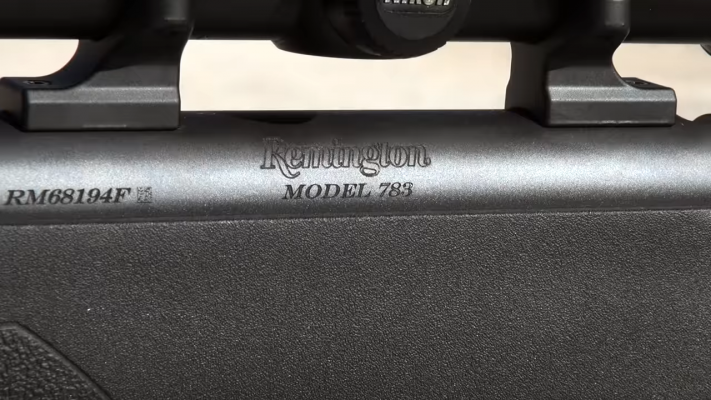 Remington Model 783 Engraving