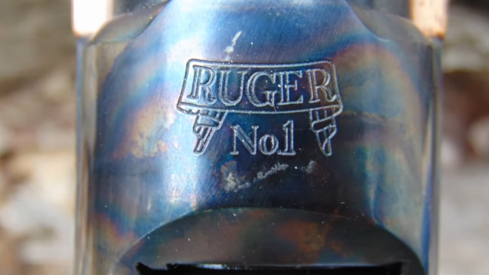 Ruger No. 1 Single-Shot Rifle Engraving