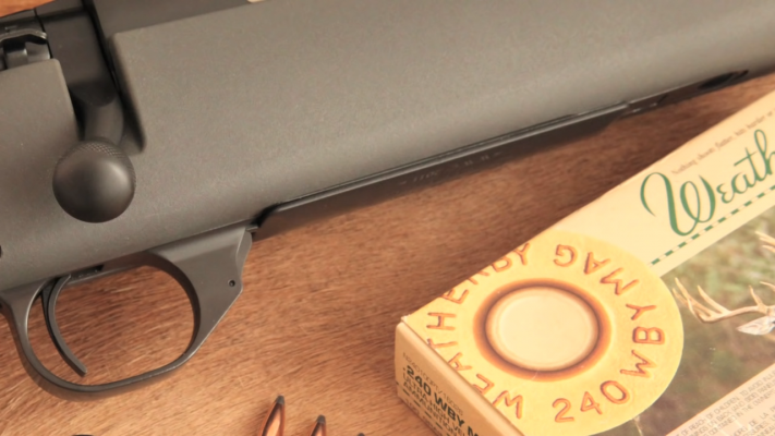 Weatherby Vanguard Series 2 Ammo and Trigger