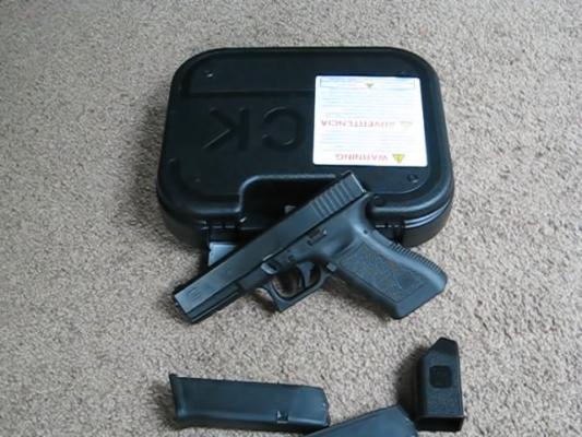 357 SIG Pistol 2