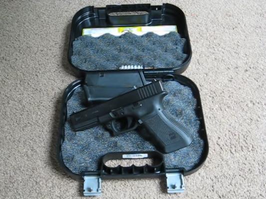 357 SIG Pistol trigger