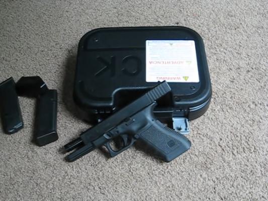 357 SIG Pistol muzzle