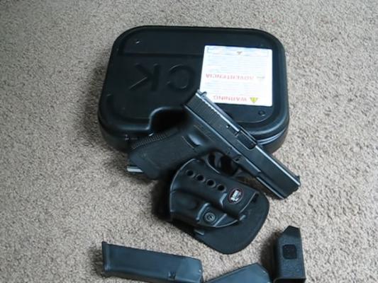 357 SIG Pistol grip