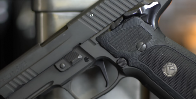 SIG Sauer P226 Legion trigger