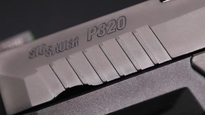 Sig Sauer P320 slide