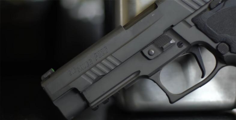 SIG Sauer P226 Legion trigger guard 2
