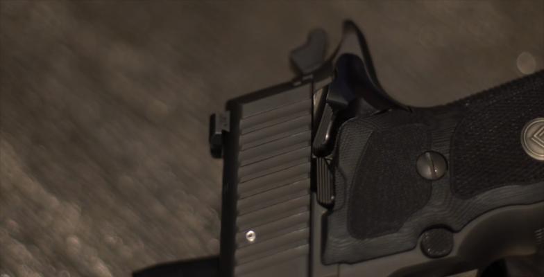 SIG Sauer P226 Legion safety 2