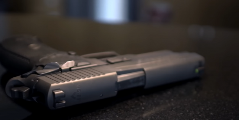 SIG Sauer P226 Legion barrel