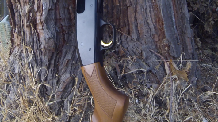 Mossberg 500 Pump-Action Shotgun trigger