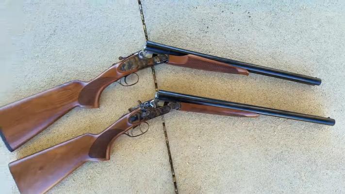 CZ Sharp-Tail Coach Shotgun & Hammer-tail