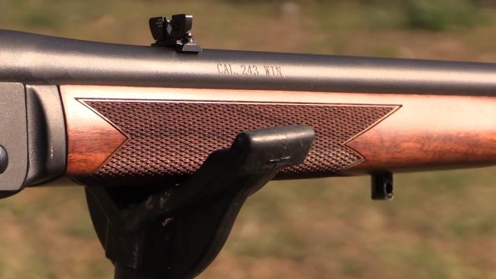 Henry Wisconsin Single Shot barrel