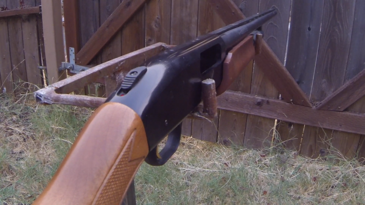 Mossberg 500 Pump-Action Shotgun barrel