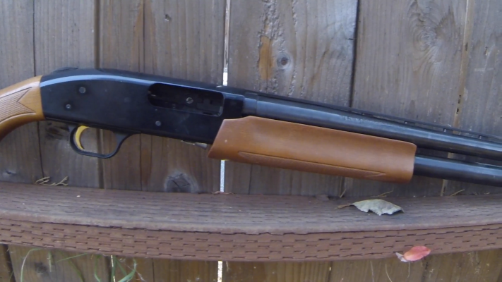 Mossberg 500 Pump-Action Shotgun forearm