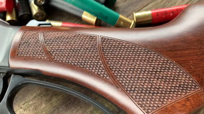 Henry Repeating Arms Lever Shotgun grip