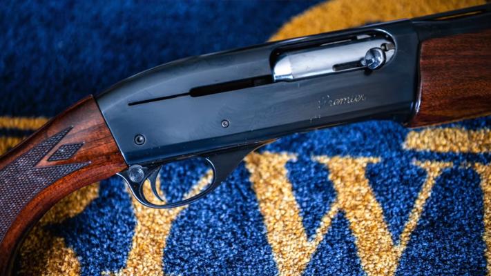 Remington 1187 Engraving