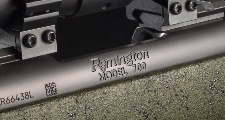 Remington Model 700 Engraving