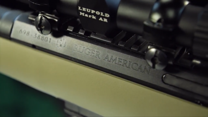 Ruger American Ranch Engraving