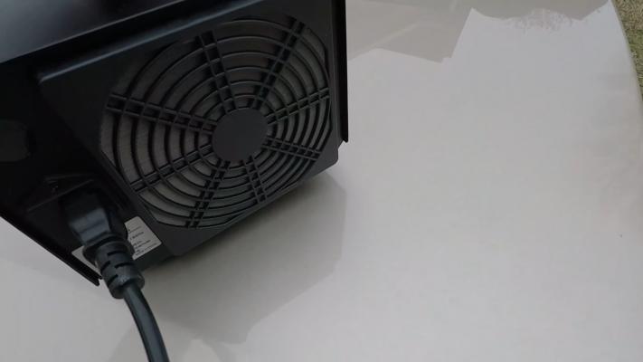 Enerzen Commercial Ozone Generator fan