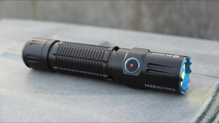Olight M2R PRO Warrior Flashlight Switch