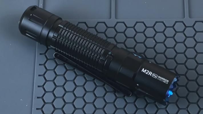 Olight M2R Pro Warrior Flashlight Length