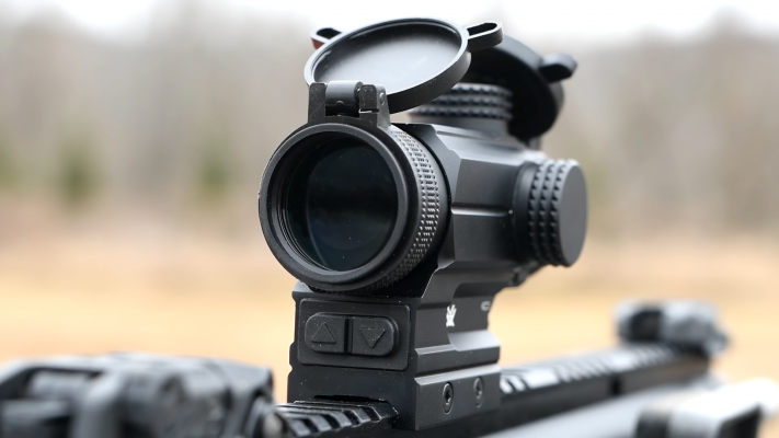 Vortex Spitfire 3X Prism Scope lens
