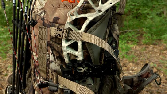 ALPS OutdoorZ Pursuit HunALPS OutdoorZ Pursuit Hunting Pack bow holderting Pack bow holder