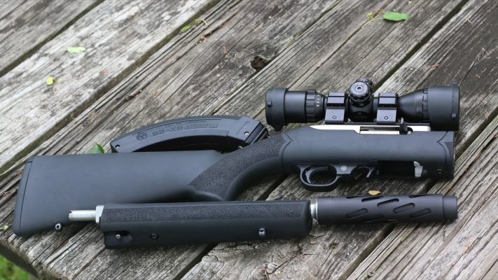 Hogue Rubber Overmolded Stock